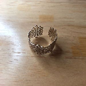 Jewelry - gold ring from francesca's